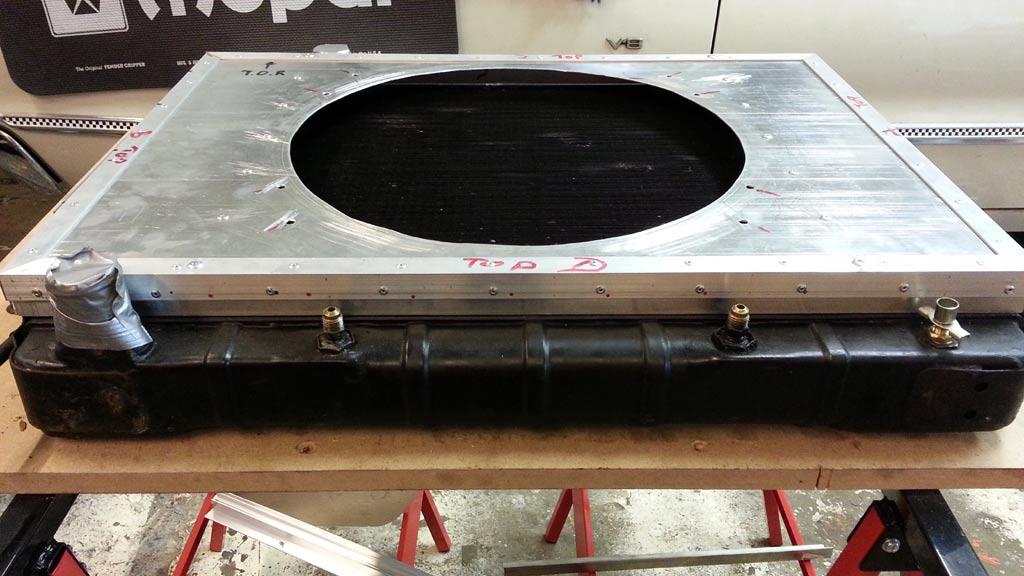 Homemade Radiator Fan Shroud Best Fan In Thestylishnomad Com